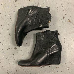 Frye Carson Boot Black 8.5